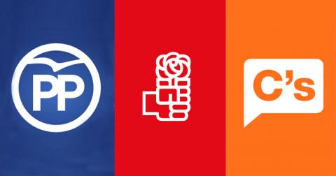 Partidos políticos Calzada de Valdunciel