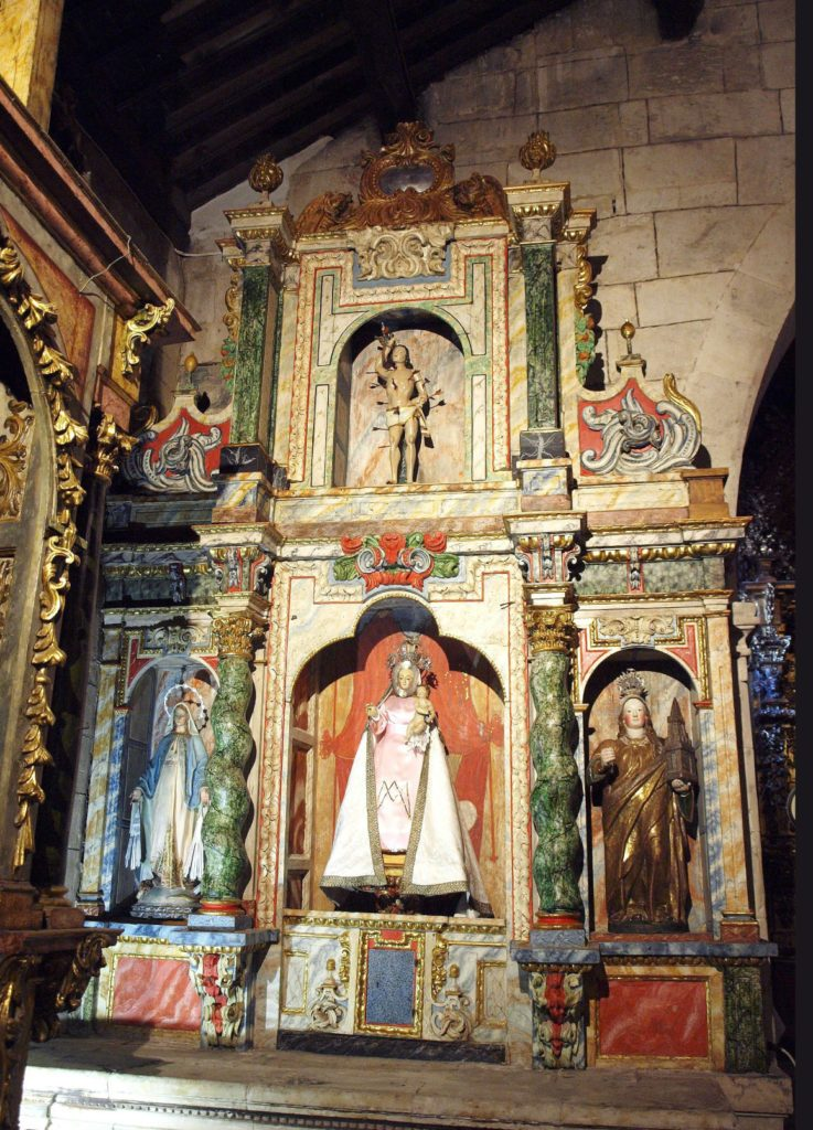 Virgen del Rosario Calzada de Valdunciel
