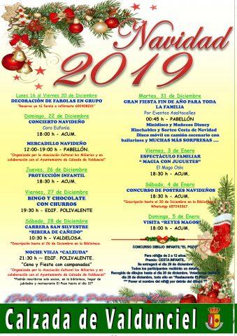 Navidad 2019 Calzada de Valdunciel